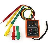 Easy Go Shopping 3 Phase Sequenz Rotation Tester Indikator Detektor Meter LED Summer mit tragbaren Beutel TD-LED02 SM852B