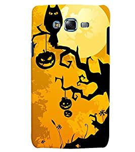 Citydreamz Halloween/Owl/Abstract Hard Polycarbonate Designer Back Case Cover For Samsung Galaxy Grand Max G7202
