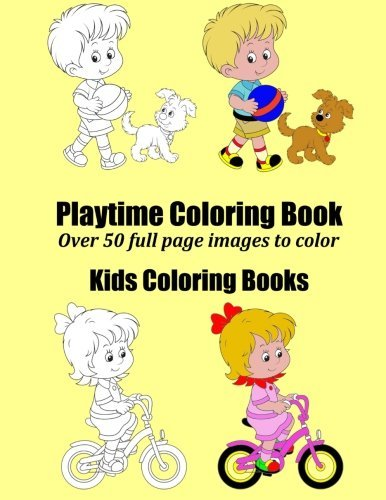 Playtime Coloring Book by Penny Farthing (2014-03-05)