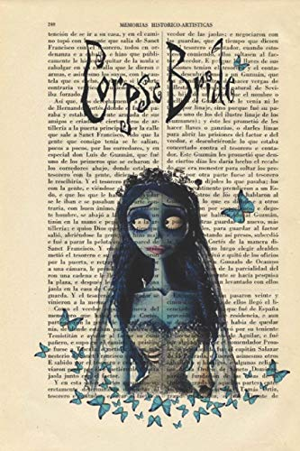 Journal: A corpse bride themed notebook journal for your everyday needs (Corpse Victor Bride,)