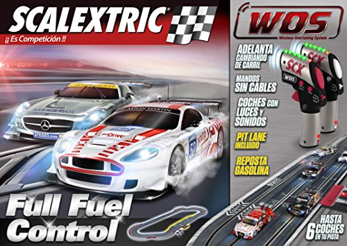 Scalextric WOS - Circuito Full Fuel Control W10135S500