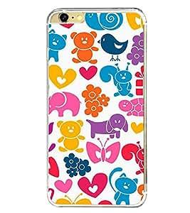 PrintVisa Designer Back Case Cover for Apple iPhone 6S (art season star pattern disks)