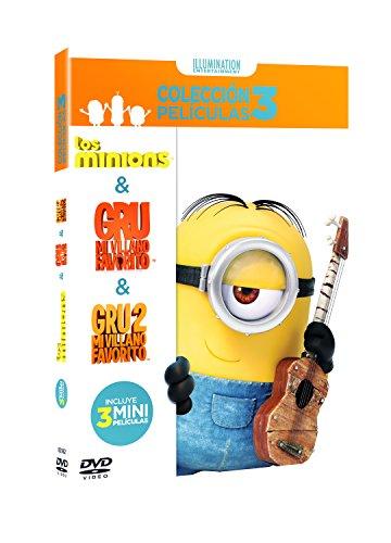Pack Minions (Gru + Gru 2 + Minions) [DVD]