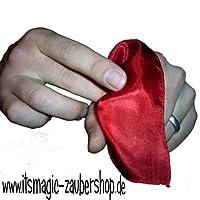 Vanishing-Silk-Verschwindendes-Tuch-zaubern-Genialer-Zaubertrick-Zaubertricks ProTriXX Vanishing Silk Komplett-Set, Verschwindendes Tuch Zaubern, Genialer Zaubertrick, Zaubertricks -