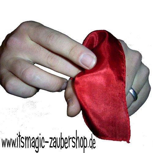 Preisvergleich Produktbild Vanishing Silk, Verschwindendes Tuch zaubern, Genialer Zaubertrick, Zaubertricks
