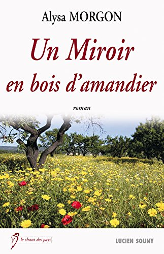 Un miroir en bois d'amandier par Alysa Morgon