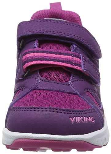 Viking Riptide Ii, Baskets Basses mixte enfant Violet (Purple/Fuchsia 1617)