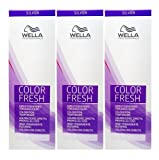 Wella Color Fresh Silver 8/81 hellblond perl-asch 3 x 75 ml Tönungsliquid Gel-Tönung CF