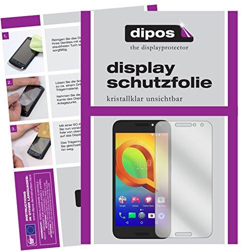 dipos I 2X Schutzfolie klar passend für Alcatel A3 Folie Bildschirmschutzfolie