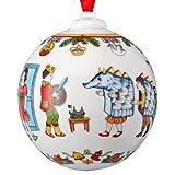 Hutschenreuther Porzellan Weihnachtskugel 2013