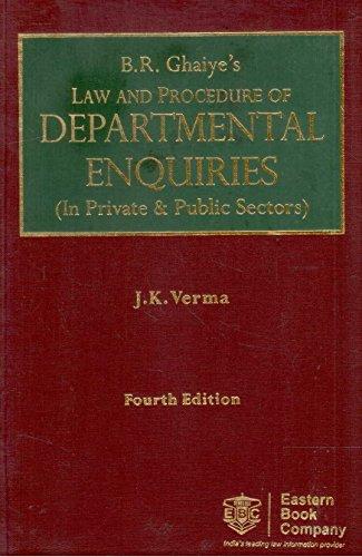 Law and Procedure of Departmental Enquiries (in Private & Public Sectors) (2 Vols. Set)