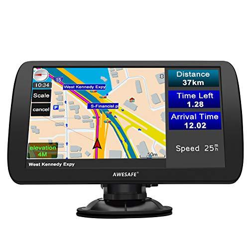 GPS Voiture GPS Poids Lourds de 9 Pouces Écran HD Couvrant...