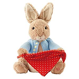 Beatrix Potter Plush Peter Rabbit Peek A Boo Plush Toy by Beatrix Potter