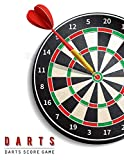 Darts Score Game: Darts Game Record Keeper Book, Darts Scoresheet, Darts Score Card, Darts Score Sheet has space record scores for everybody favorite pub game, Size 8.5 x 11 Inch, 100 Pages