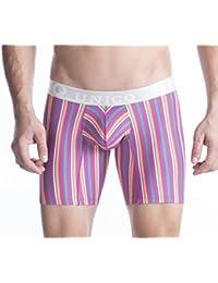 Mundo Unico - Boxer - Homme multicolore Lila, Violett