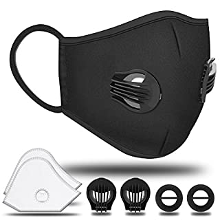 Sports Mask NASUM Respirator Fold-Flat Dust Masks Dust Half Mask Respirator, N95 Filter Technology, for Smog, Car Exhaust and PM2.5 Protection, for Running Motorcycle and Other Outdoor Activities