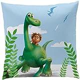 Disney The Good Dinosaur 042978 Kissen Arlo und Spot, Polyester, 40 x 40 cm