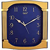 Ajanta 12 Inches Wall Clock For Home/Offces/Bedroom/Living Room/Kitchen (Step Movement, Blue)