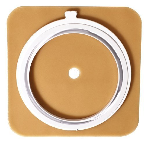 SUR-FIT AutoLock Stomahesive Skin Barrier ( WAFER, 6X6 100MM (4) FLANGE ) 5 Each / box by ConvaTec (Stomahesive Wafer)