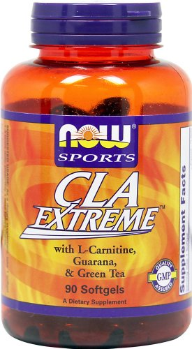 Sports, CLA Extreme, 90 Softgels - Now Foods - UK Seller
