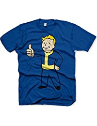 Level Up Wear Vault Boy Thumbs Up - T-shirt - Col ras du cou - Manches courtes - Homme