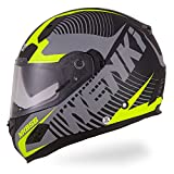 Best Motorcycle Helmets - NENKI Helmets NK-856 Full Face Motorcycle Helmets ECE Review