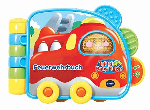 Vtech 80-502004 80-502004-Tut Baby Flitzer-Feuerwehrbuch, Mehrfarbig (Baby-bücher Monate 9)