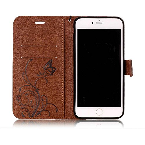 Cover iPhone 7 Plus 8 Plus, Sportfun Custodia Portafoglio In Pelle Con Wallet Case Cover Per iPhone 7 Plus 8 Plus con Porta Carte e Funzione Stand (05) 06