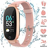 Fitness Tracker Donne IP68, AGPTEK Braccialetto...