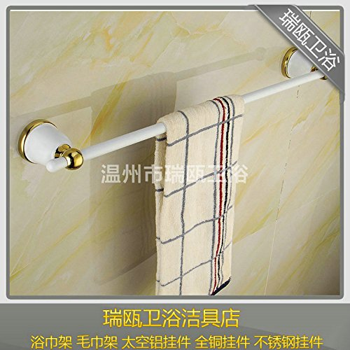 hoomuuna sola barra toallero blanco cermica cobre pintado vintage toallero