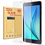 Tab A 8.0 2017 Screen Protector, Pasonomi [9H Hardness] [Crystal Clear] [Scratch Resistant] Premium Tempered Glass Screen Protector Film for Samsung Galaxy Tab A 8.0 2017/ SM T385/T380 Tablet