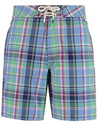 RALPH LAUREN Resort Blue Multi Palm Island Trunks