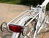 ACE leicht hinten Rack für Brompton in Silber