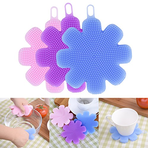 aihometm-multi-function-eco-friendly-dish-bowl-cleaning-creative-brush-heat-resistant-mat-flower-sty