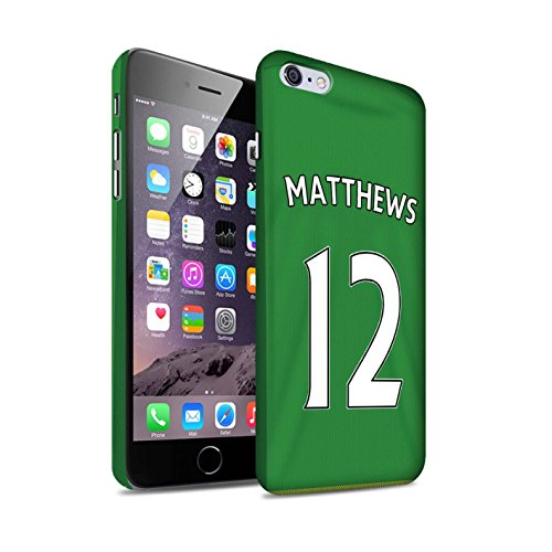 Offiziell Sunderland AFC Hülle / Matte Snap-On Case für Apple iPhone 6+/Plus 5.5 / Pack 24pcs Muster / SAFC Trikot Away 15/16 Kollektion Matthews