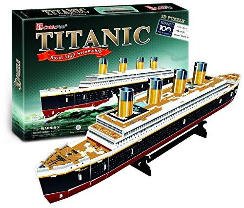 CubicFun Puzzle 3D del Barco Titanic, 35 Piezas (771T4012)