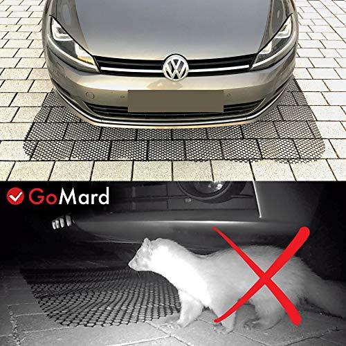 GoMard Auto MARDERSCHUTZ   Mobile Marderschreck-Matte in 200 x 150 cm   für ALLE KFZ geeignet GETESTETE Marderabwehr