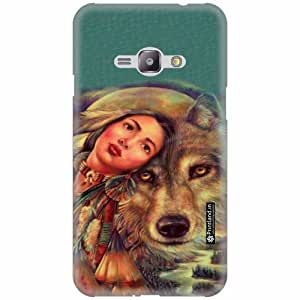Printland Back Cover For Samsung Galaxy J1 Ace - Silicon Pet Lover Designer Cases
