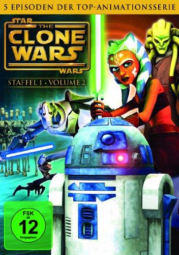 Star Wars: The Clone Wars - Staffel 1, Vol. 2 (Dvd 1 Star Wars Staffel)
