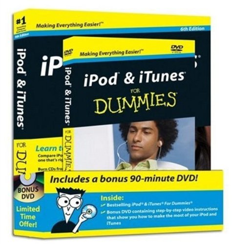 iPod & iTunes For Dummies: DVD + Book Bundle Ipod Bundle