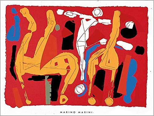 Kunstdruck/Poster: Marino Marini Chevaux et Cavaliers V 1972