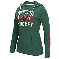 NHL New York Islanders Womens Face-Off Fleece Crewdie Sweatshirt, X-Large, Green