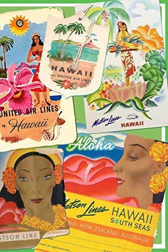 Hawaii United Airlines (Aloha: Vintage Travel Journal (Vintage Hawaii, Band 2))