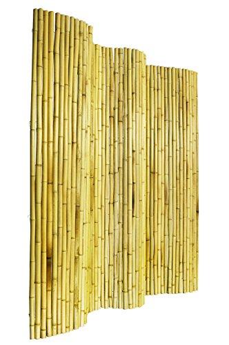 Sichtschutz Aus Bambus Bambusmatte - 1,8m x 1,9m - Hell - PapillonTM