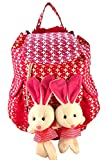 Deal Especial new stylish Bunny backpack Multicolored colors bag gift & sales 213B