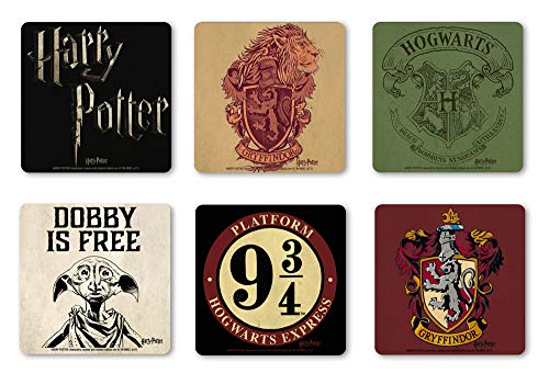Potter original Harry Coaster Untersetzer Set 6 TLG