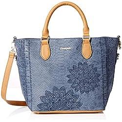Desigual Bag AQUILES FLORIDA Female Blue - 18WAXPC4-5000-U