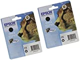 Epson T0711 Due Cartucce d'Inchiostro