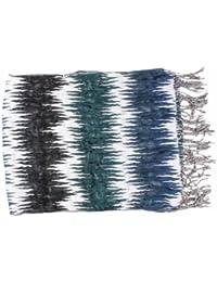Crinkle écharpe avec franges en écharpe froissée