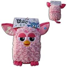 Peluche Guarda Pijama Furby Rosa Sonido y Brilla en la oscuridad 30cm Original Hasbro